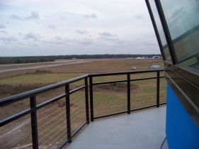 Brooksville-Tampa Bay Regional Airport Control Tower