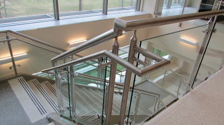 Stainless Fabricators, Inc. (AMS Line); Workplace (Architect); Rogers Builders (General Contractor); Winston Steel (Customer)