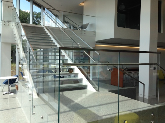 Stainless Fabricators, Inc. (AMS Line); Gensler (Architect); Barnhill (General Contractor); Glasstech (Customer)
