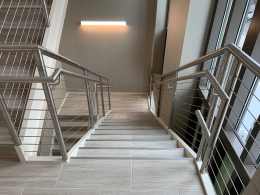 Stainless Fabricators, Inc. (AMS Line); BB+M (Architects); Edifice (General Contractor); Lyndon Steel (Customer)