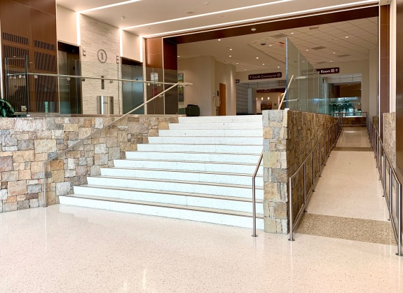 Stainless Fabricators, Inc. (AMS Line); HDR (Architect); DPR (General Contractor)